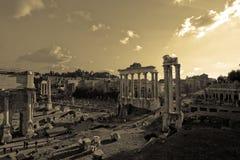 Romano van Foro Stock Afbeelding