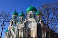 Romanov's Church in Vilnius Stock Photos