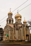 Romanov's church in Vilnius Stock Image