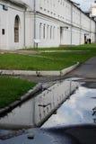 Romanovs的庄园在Izmailovo休闲公园和庄园,莫斯科,俄罗斯 免版税库存照片