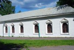 Romanovs的庄园在Izmailovo休闲公园和庄园,莫斯科,俄罗斯 免版税库存图片