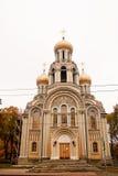 Romanovs Kirche in Vilnius Stockbild