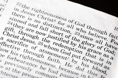 Romans 3:23 Stock Images