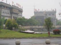 Romans av kungariket tre parkerar Lopp i Wuhan, Kina i 20 royaltyfri foto