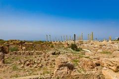 Romans fördärvar däcket Sur södra Libanon royaltyfria bilder