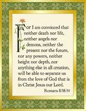 Romans 8:38-39 Stock Photo
