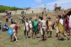 Romans Scene fotografía de archivo