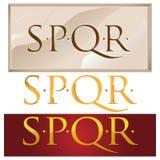 Romans symbol Royalty Free Stock Image