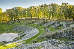 Free Romans Theater, Autun, France Stock Images - 119248514