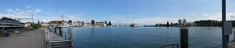 Romanshorn Royalty Free Stock Photography