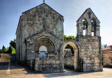 Romansk kloster av Sao Pedro de Ferreira Royaltyfri Fotografi