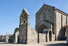 Romansk kloster av Sao Pedro de Ferreira Royaltyfria Foton