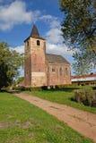 Romansk kyrka Arkivfoton