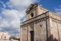 Romansk kyrka Royaltyfri Bild