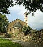 Romansk kyrka Royaltyfri Fotografi