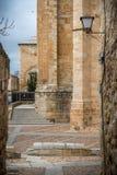 Romansk kyrka av det 12th århundradet i Zamora Royaltyfri Fotografi