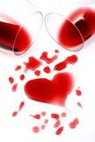 romansk wine för red Fotografering för Bildbyråer