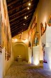 Romanska kyrkliga Sant Joan de Boi, la Vall de Boi, Spanien royaltyfri fotografi