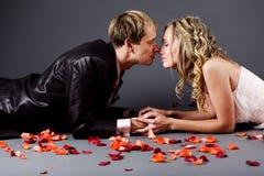 romanskt bröllop Royaltyfria Foton