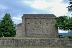 Romanskt kapell av St Sebastian Royaltyfri Bild