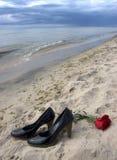 romanskt symboliskt för förälskelse Arkivbild