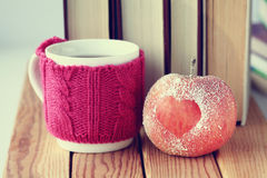 Romansowy jabłczany kierowy symbol Zdjęcie Stock