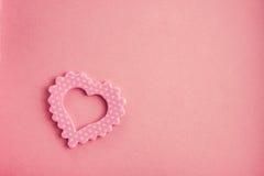 Romansowy symbolu serce Zdjęcie Royalty Free