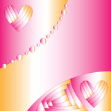 Romantic abstract background Stock Image