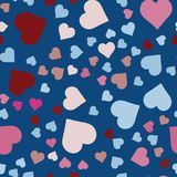 Romantic abstract scrapbooking paper. Royalty Free Stock Photo