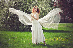 Romantic angel Stock Images