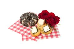 Romantic appetizer Royalty Free Stock Image