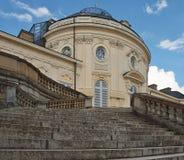 Romantic architecture in Stuttgart, castle Schloss Solitude royalty free stock images