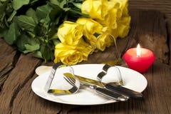 Romantic arrangement Royalty Free Stock Images