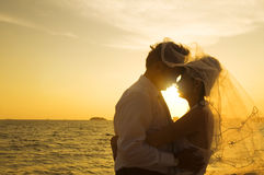 Romantic asian couple Royalty Free Stock Photo