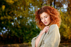 Romantic autumn Royalty Free Stock Photo