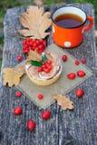 Romantic autumn still life Stock Photo