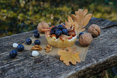 Romantic autumn still life Royalty Free Stock Image
