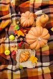 Romantic autumn still life Stock Image