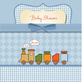 Romantic baby shower card Stock Photography