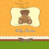 Romantic baby shower card Stock Image