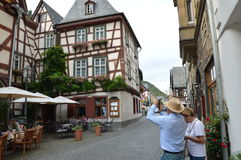 Romantic Bacharach Stock Photography