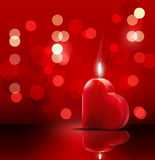 Romantic backdrop for Valentine's Day Royalty Free Stock Photos
