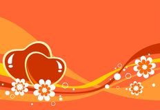 Romantic background Royalty Free Stock Image