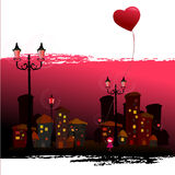 Romantic background Stock Image