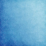 Romantic background. Blue romantic background with swirls Stock Images