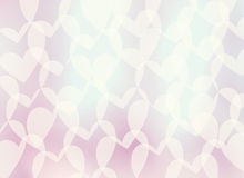 Romantic background-heart Royalty Free Stock Photos