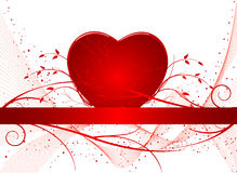 Romantic background  illustration Royalty Free Stock Images
