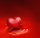 Romantic background Stock Photography