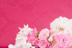 Romantic background with rose Royalty Free Stock Images