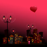 Romantic background for valentine's day Stock Photo